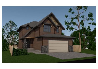 Bridgeland Craftsman - Render