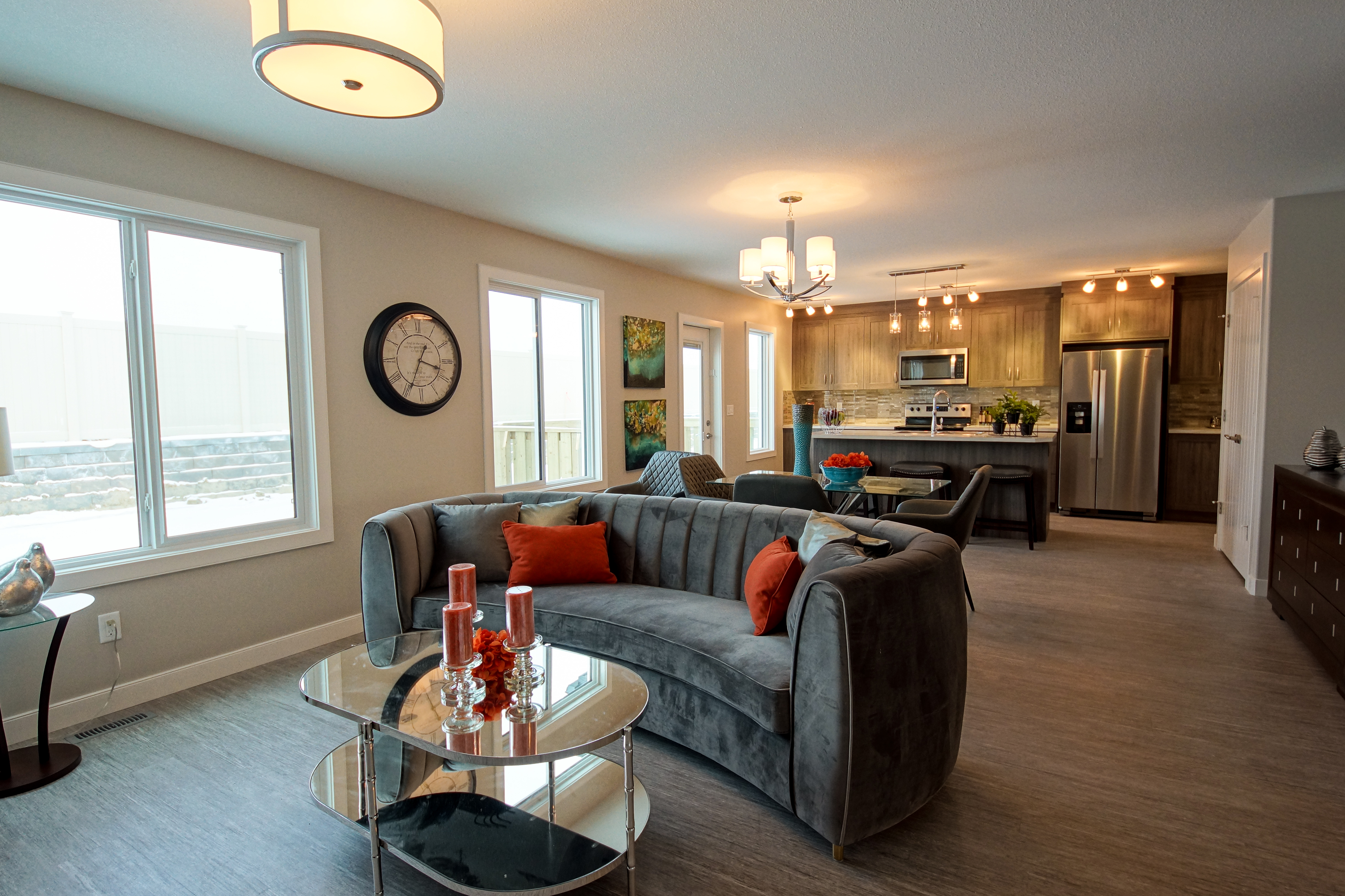 red deer show homes